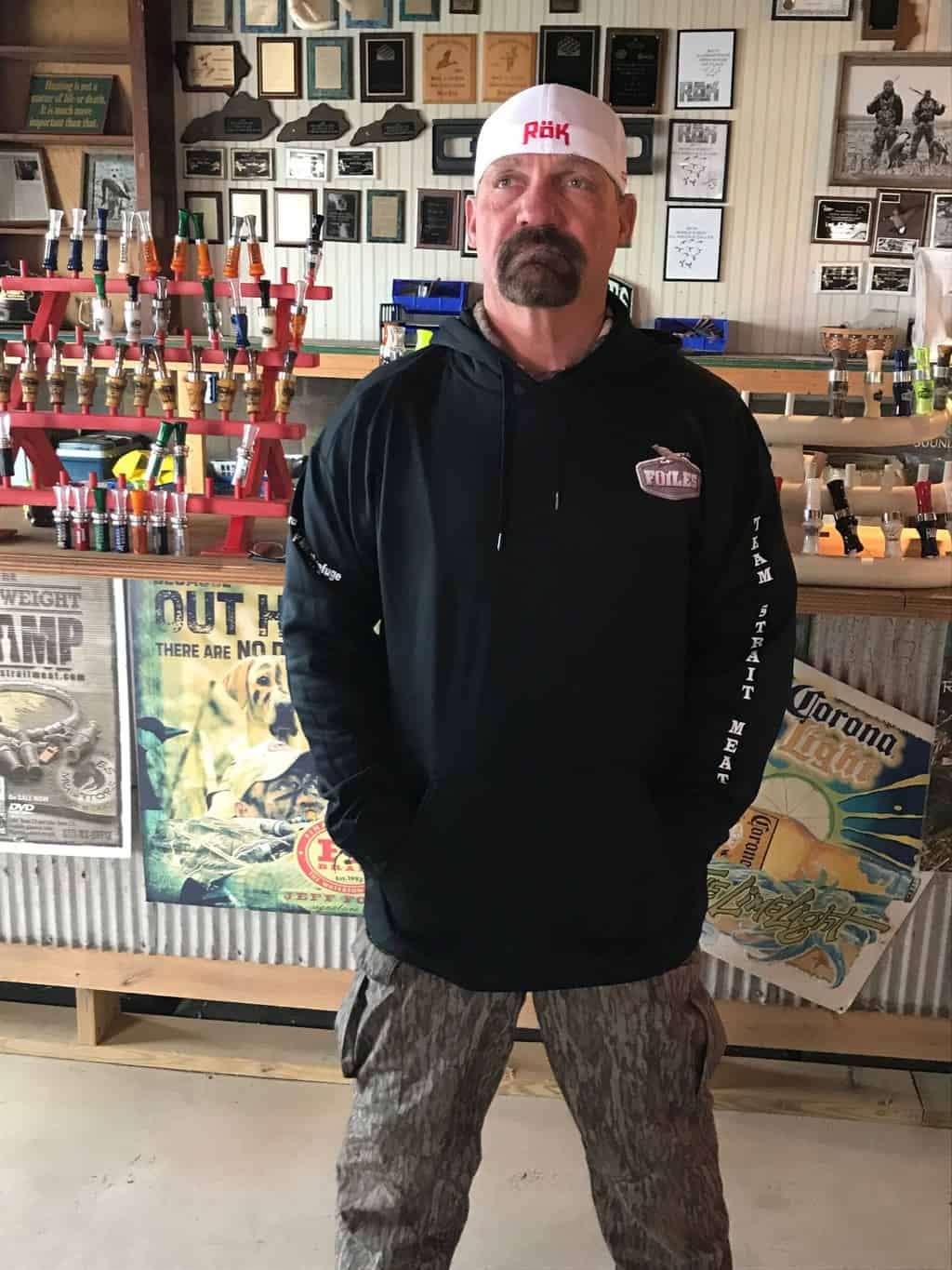 Rok Outdoorz UA Style Hoodie with Foiles Logos