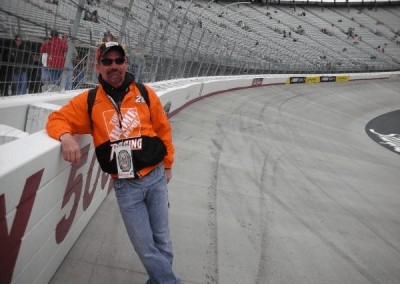 Jeff on Bristol Track