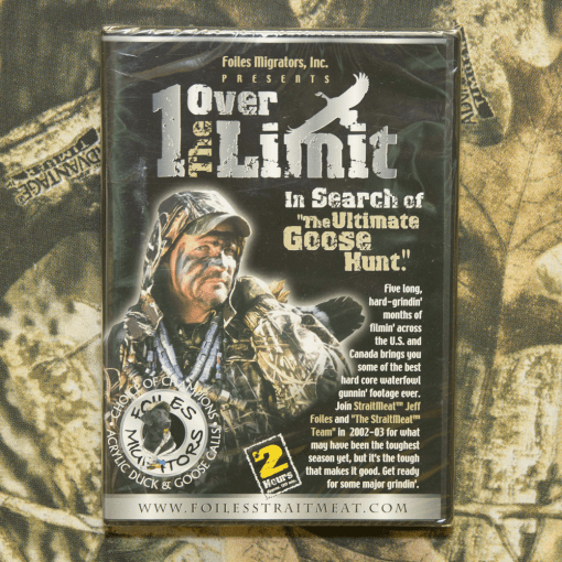 1 Over The Limit Video DVD with Jeff Foiles