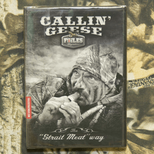 Callin Geese Instructional DVD with Jeff Foiles
