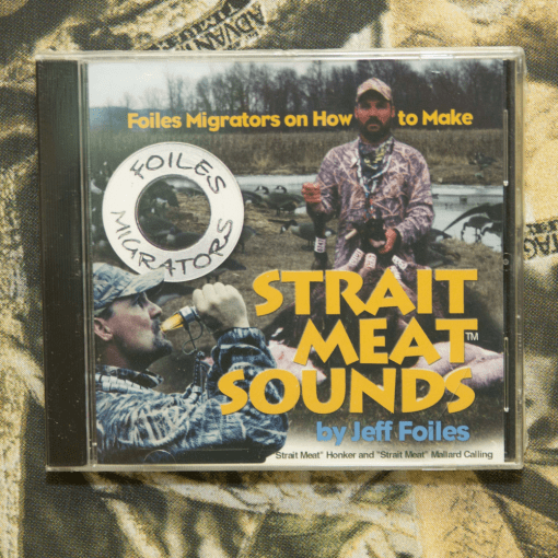 Strait Meat Sounds CD with Jeff Foiles